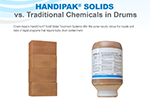 HandiPak Solids vs Traditional Chemicals in Drums Infographic